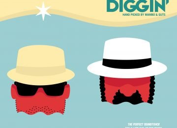 Beach Diggin' – The perfect soundtrack for a lazy day at the beach with Guts & Mambo !