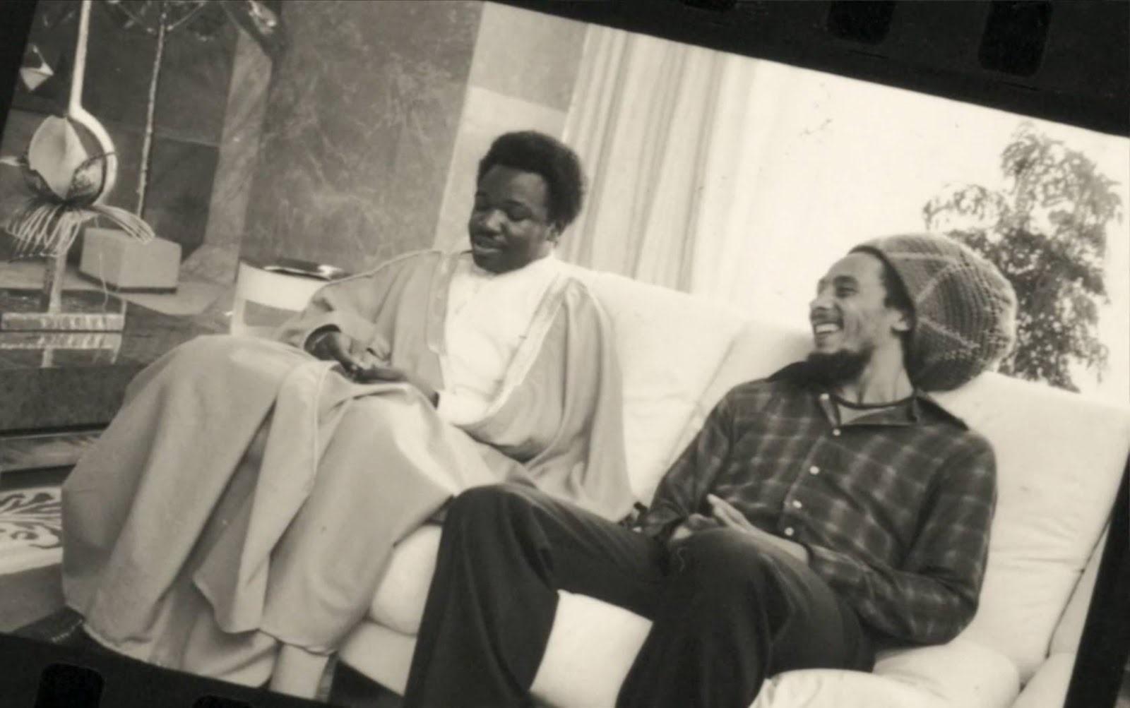 Bob Marley & Ali Bongo
