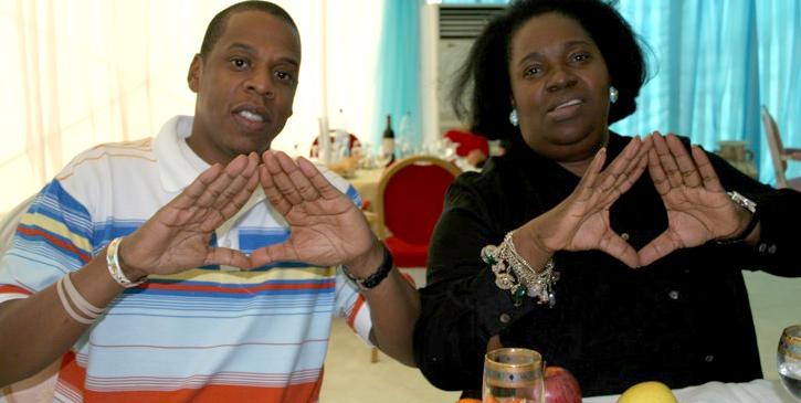 Pascaline Bongo & Jay-Z