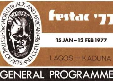 Souvenirs du FESTAC 1977 – World Black and African Festival of Arts and Culture