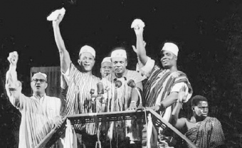 On 6th March 1957, Gold Coast gained its independence and became Ghana
