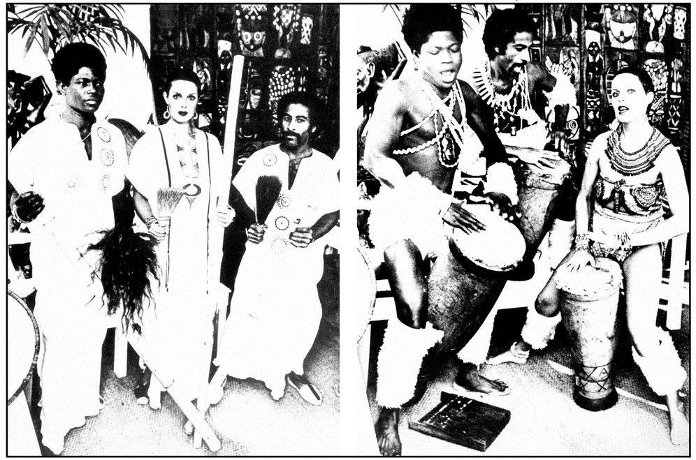 En 1983, le groupe Zimba mélangeait mbira, new wave et cosmic disco