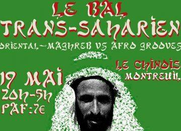 Rendez-vous au Bal Trans-Saharien le 19 mai à Montreuil