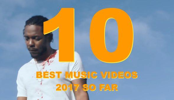 Les 10 clips du premier semestre 2017 qu'il ne fallait pas rater