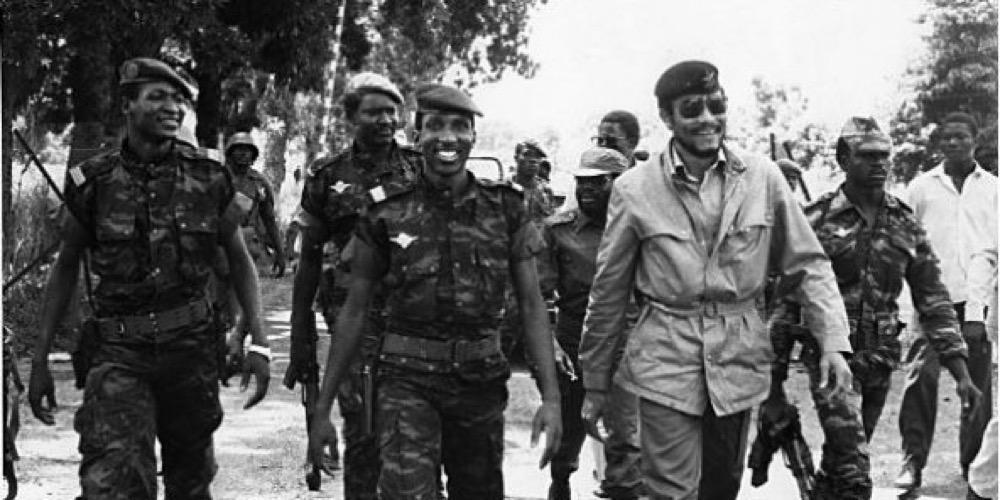 Thomas Sankara et Jerry Rawlings