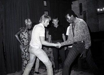 En Afrique aussi, Johnny Hallyday fut l'idole des jeunes