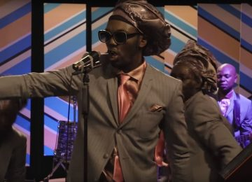 Congolese-Belgian artist Baloji pays tribute to 70's live music on TV