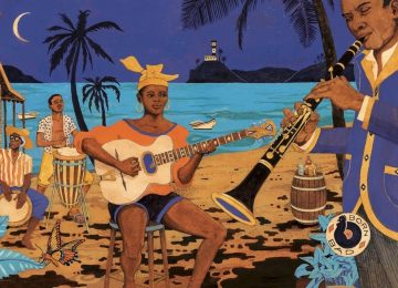 Écoutez le premier extrait d'Antilles Méchant Bateau, la nouvelle compilation de Born Bad