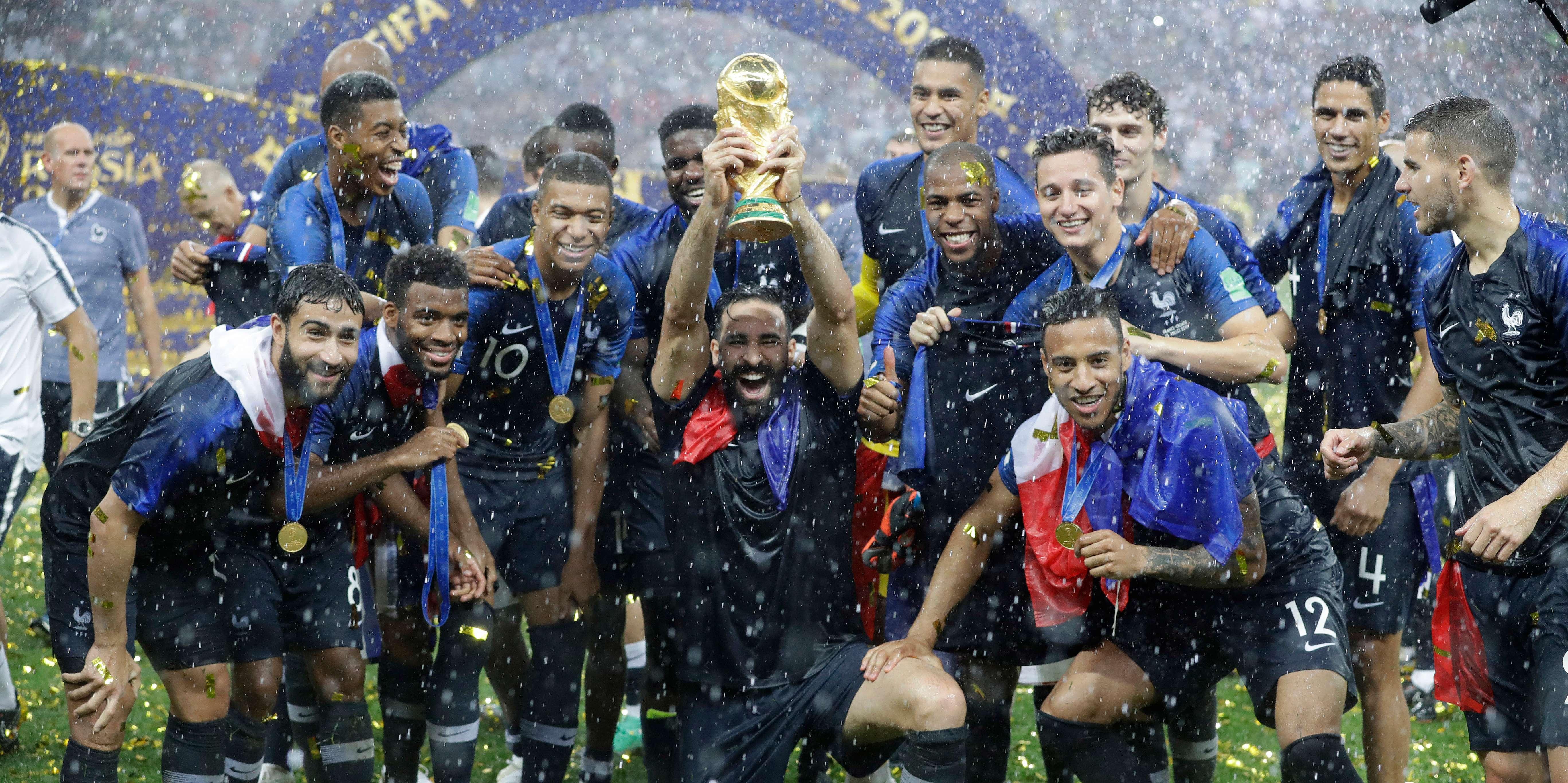 Dimanche 09 septembre les magic system seront au stade de france avec les bleus - Coupe du monde resultats ...