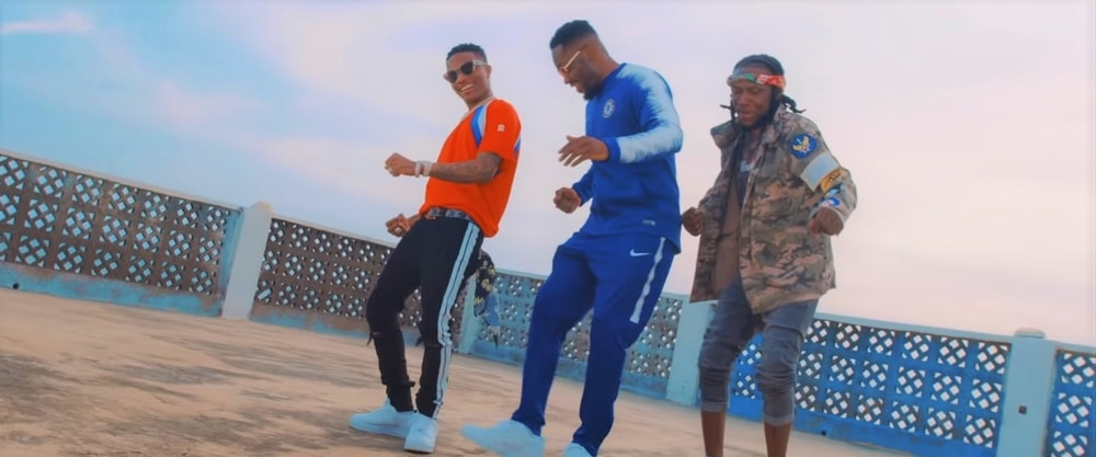 Wizkid and R2Bees share music video for 'Supa'
