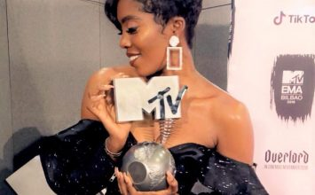 Tiwa Savage élue meilleure artiste africaine aux MTV Europe Music Awards