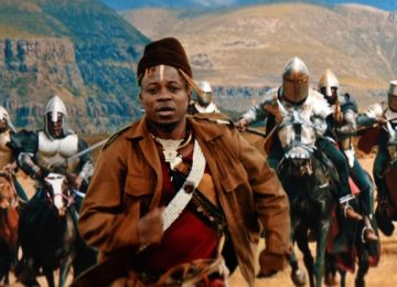 Blick Bassy pays tribute to Cameroonian rebel fighter Ruben Um Nyobe on 'Ngwa' music video