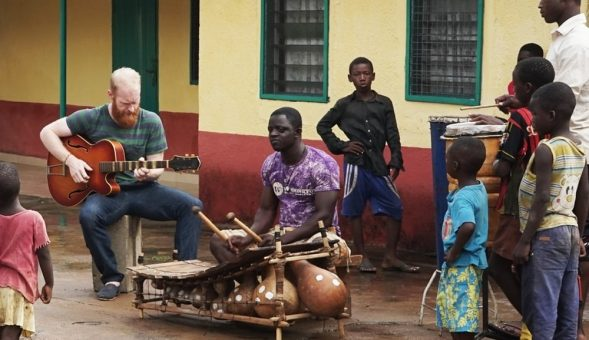 Ghanaian xylophone master Isaac Birituro and Sonny Johns team up on 'Yesu Yan Yan'