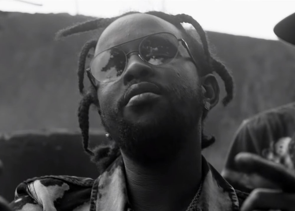 Popcaan delivers a black and white music video for 'Firm and