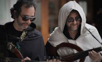Parisian duo Duoud echoes the Oud with electronic sounds