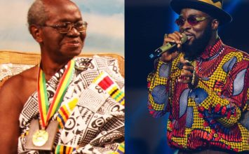 M.anifest pays tribute to grandpa Professor Joseph Hanson Kwabena Nketia