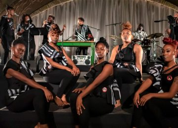 Black Monument Ensemble : gospel, political activism and drum machines
