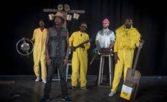 "Kinshasa-based band KOKOKO! announce their debut LP ""Fongola"""