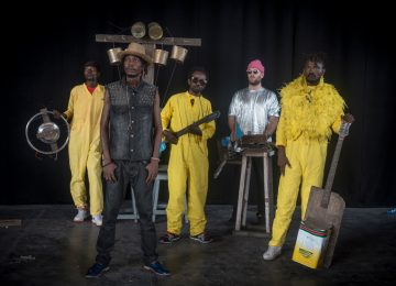"Kinshasa-based band KOKOKO! announce their debut LP ""Fongola"""