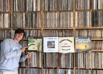 Dans les disques de Franck Descollonges : musique des Antilles