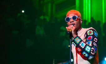 Wizkid sells out the O2 Arena, makes history