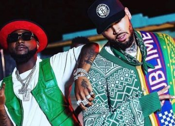 Davido features on Chris Brown's 'Lower Body' off new project