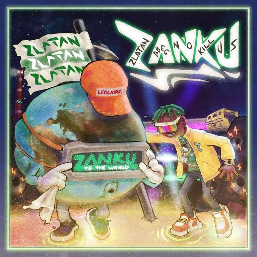 Zlatan Zanku Cover album