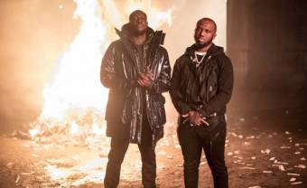 Stormzy and Tottenham rapper Headie One inspire respect in 'Audacity' music video