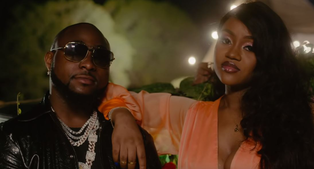 "Davido's ""1 Milli"" video captures the love of Nigerian entertainment power duo"