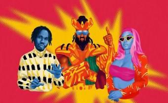 Mr Eazi & Major Lazer invitent Nicki Minaj et K4mo sur «Oh My Gawd»