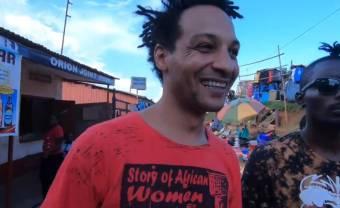 David Walters sème la bonne humeur dans le clip de « Manyè »