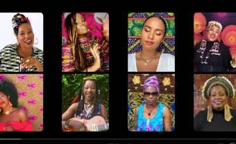 Fatoumata Diawara invite huit femmes sur « Ambé »