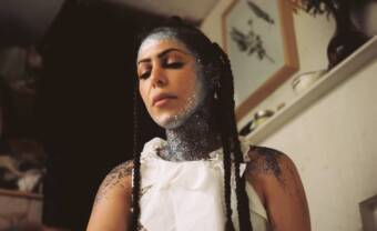 """Sabrina Bellaouel unveils the intimate video of """"Solar Return"""""""
